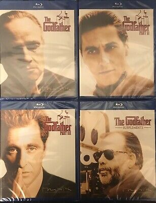 THE GODFATHER THE COPPOLA RESTORATION (4xBlu Ray) New Missing Outer Slipcover