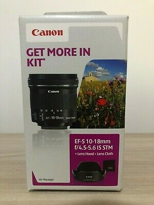 Canon EF-S 10-18mm f/4.5-5.6 IS STM Paraluce + LC KIT