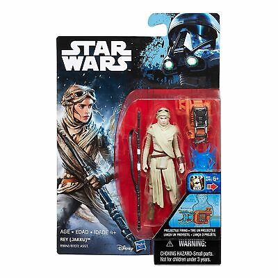 Star Wars Rogue One The Force Awakens 3.75 Inch Action Figure REY (JAKKU) Age 4+