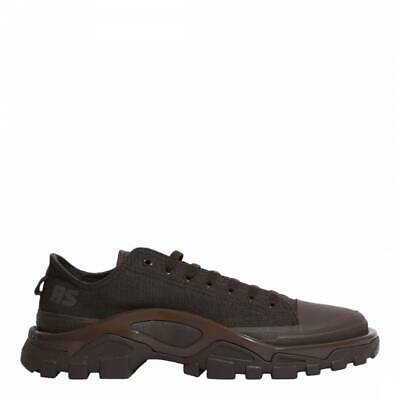 ADIDAS BY RAF SIMONS Dark Brown RS Detroit Runner Lace up Trainers Shoes