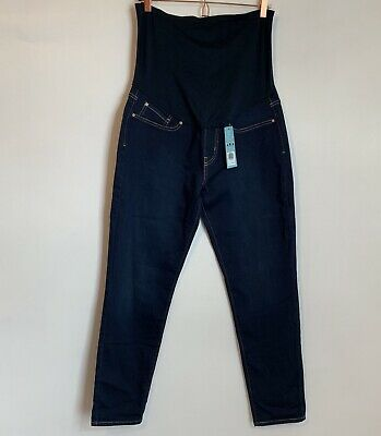 581b736a0c883 Signature by Levi Strauss & Co Women's Maternity Skinny Jeans Size Large