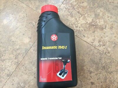 Texamatic 7045E Steering Gear Oil Hydraulic Atf III Red Ford Mercedes Man Volvo