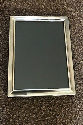 Solid Silver Photo Frame, 9.5 X 7.5 ,all Hallmarked, Lovely Frame