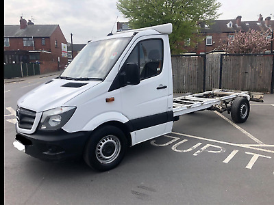 Mercedes sprinter lwb chassi cab 63 reg export recovery