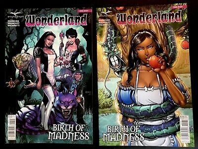 1A 2017 NM Stock Image Wonderland Birth of Madness Zenescope