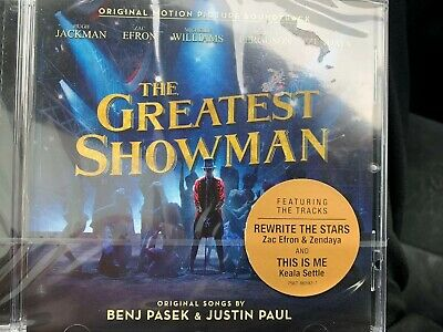 The Greatest Showman CD. Brand New Uk Version Free delivery.