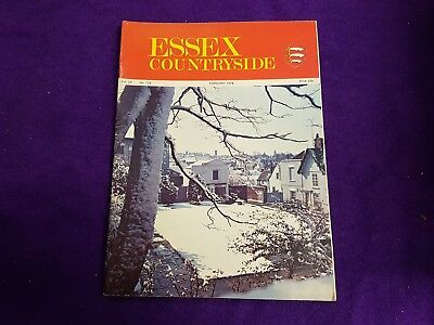 The Essex Countryside Magazine February 1976 Clacton Dedham Colne, Advertisments