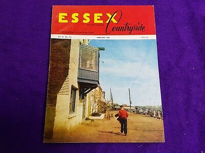 The Essex Countryside Magazine February 1968 Harlow Burnham Advertisments