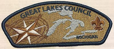 BSA Boy Scouts of America Cub Scout Great Lakes Council Michigan Patches Badges