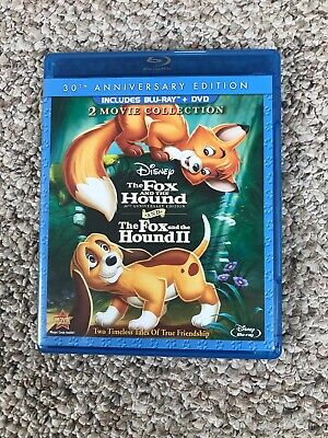 Fox and the Hound / Fox and the Hound II (DVD/Blu-ray, 3 disc, 30th Anniversary)