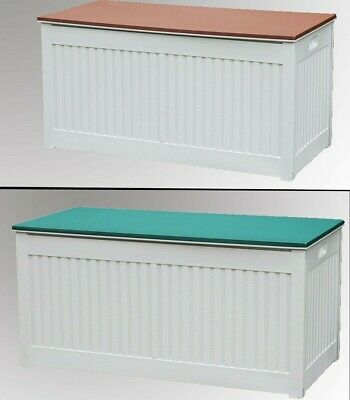 Garden Storage Box Outdoor Plastic Utility Chest Cabinet Tool Shed Unit Cushion