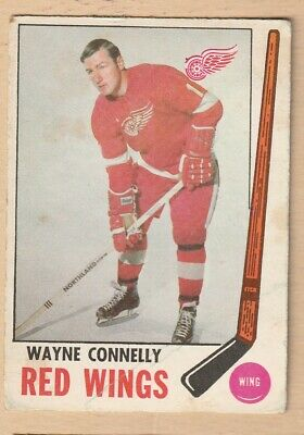 Hockey Card Nhl 1969-70 Wayne Connelly  Detroit Red Wings Opc #60