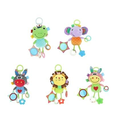 Crib,Pram,Stroller,Buggy,Puschair, Cot, Seat Musical Teether Rattle Hanging Toy