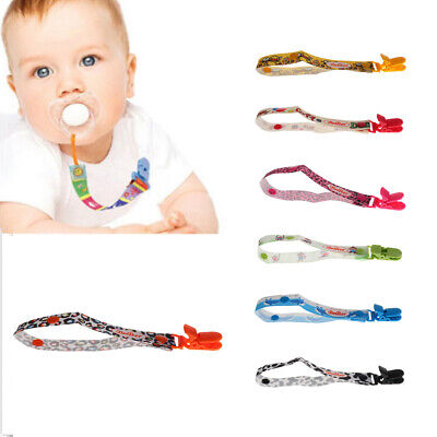 Dummies Clips Holder Dummy Soother Pacifier Chain Clip Girls Boys