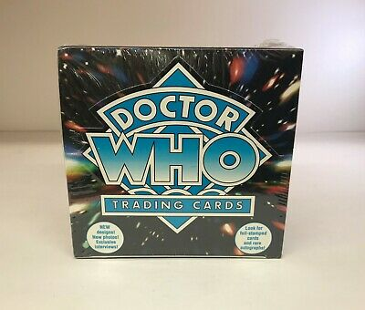 Doctor Who Series Four 4 IV - Sealed Trading Card Hobby Box - Cornerstone 1996