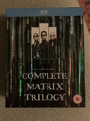 The Matrix Trilogy (Blu-ray) The Matrix, Reloaded & Revolutions