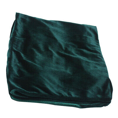 Pleuche Piano Stool Chair Bench Cover for Piano Dual Seat Bench 75cm Green