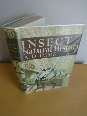 New Naturalist #8 Insect Natural History Imms *1St Ed Col Illus Entomology 1947