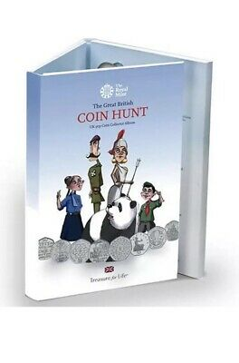 New The Great British Coin Hunt 50p Album BRAND NEW! Standard Edition