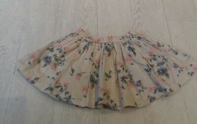 NEXT  BABY - SKIRT FULLY LINED-  9-12 Months ELASTIC WAIST AND LINED - BEAUTIFUL