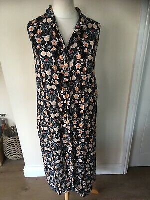BLOOMING MARVELLOUS MATERNITY SHIRT DRESS SIZE 16- Summer / Holidays Flower (pb)