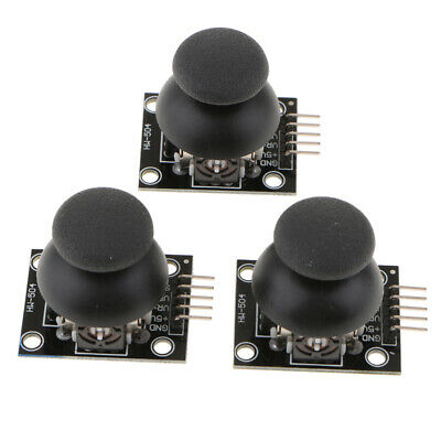 3Pcs Joystick Game Controller Breakout Module for PS2 Arduino Board Analogue