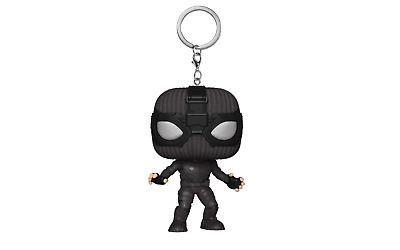 Funko Pocket POP Marvel Spider-Man (Stealth Suit)  Far from Home Keychain