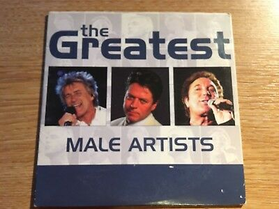 The Greatest Male Artists Various Artists Music Album CD