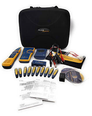 FLUKE LinkRunner Network Wiremap Kit Intellitone ITK IT 100/200 Toner & Probe