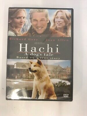 HACHI A DOGS TALE (DVD, 2010) NEW Sealed Richard Here Family Dog Movies