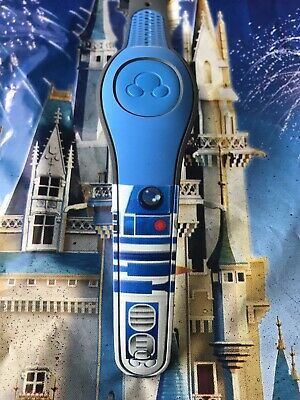 DISNEY PARKS Star Wars R2-D2 Droid BLUE Magic Band Magicband Unlinked 2