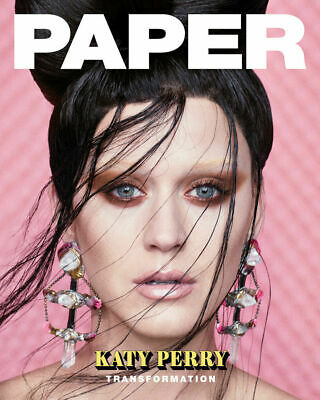 KATY PERRY TRANSFORMATION Paper Magazine SPRING 2019 LILY COLLINS KYLIE JENNER