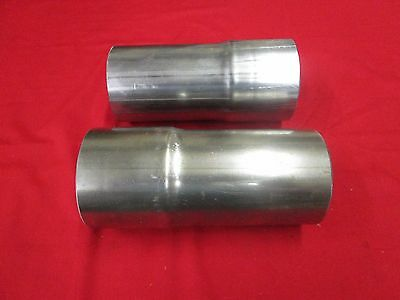 """New  Schoenfeld Exhaust Reducers Extension 3-1/2"""" In And Out 8"""" Long"""
