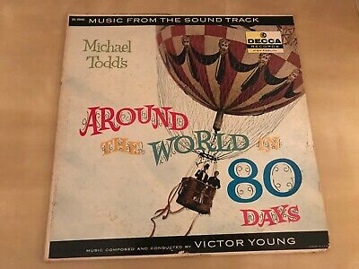 1957 Around The World In 80 Days Soundtrack Decca Dl 9046 Vg Condition