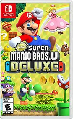 New Super Mario Bros. U Deluxe (Switch, 2019)PRE-OWNED