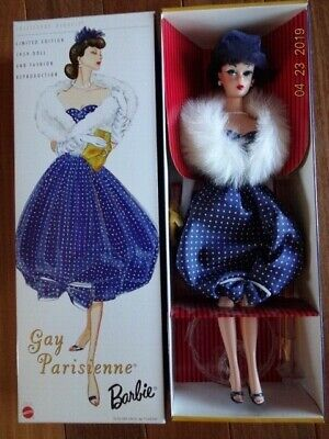 Barbie GAY PARISIENNE Vintage Reproduction Collector's Request 2002 NRFB  Repro