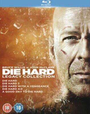 NEW Die Hard - Legacy Collection (5 Films) Blu-Ray (5643407001)