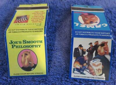 NEW Vintage LOT Joe Cool CAMEL Cigarette Ad MATCHBOOK Matches