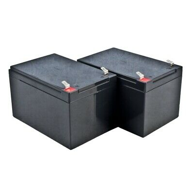 ALEKO 12V 12AH Sealed Lead Acid Rechargeable Battery For Gate Opener 2 pcs