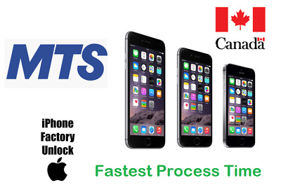 Mts Unlock By Imei All Iphone Models 4/4S/5/5S/5C/Se/6/6+/6S/6S+/7/7+8
