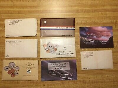 7 Uncirculated United States Mint Sets, 1970-S Cent RPM #1, 2007 Denver Mint Set