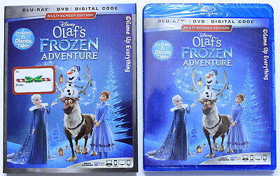 Olaf's Frozen Adventure Blu-Ray DVD Digital Code *NEW*