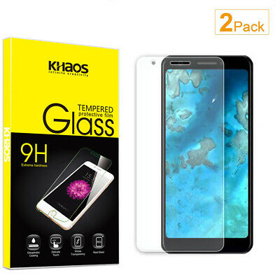 2-Pack Khaos For Google Pixel 3A Tempered Glass Screen Protector