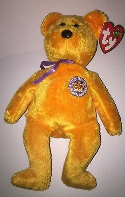 96b853da7b3 Ty Beanie Baby Babies Celebrations The Queens Golden Jubilee with tags Jun  2002