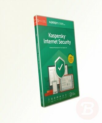 Kaspersky Internet Security 2019 - 5 Devices - 1 Year - PC/Mac/Android - ...