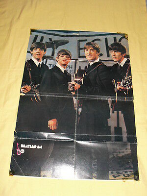 THE BEATLES 1964 / TINA TURNER Affiche Poster 60 x 80