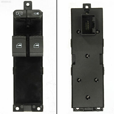 50FF 2 Door Driver Side Panel Electrical Power Window Switch Press For VW Golf