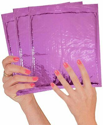 20 Pack Poly Bubble mailers 7x9. Padded envelopes 7 x 9 Hot Pink Cushion...
