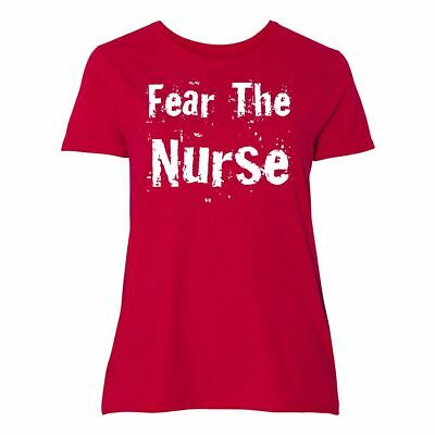 4aa91a3add Inktastic Funny Nurse Women's Plus Size T-Shirt Occupation Job Career  Profession