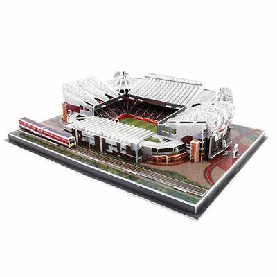 Old Trafford Stadium Manchester United PUZZLE 3D ManUtd MUFC  Theatre of Dreams